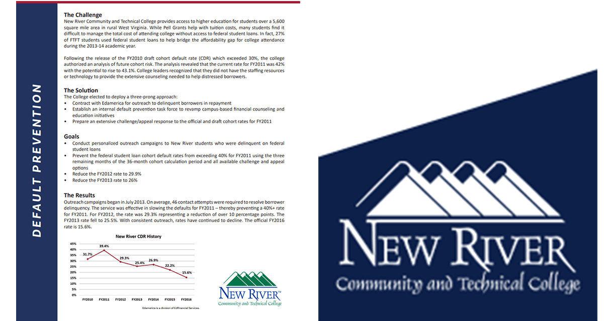 New River Community and Technical College Case Study
