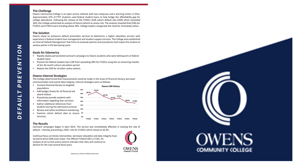 Owens Community College Case Study